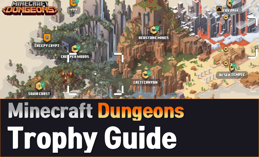 Minecraft Dungeons Trophy (Achievements) Guide Wiki