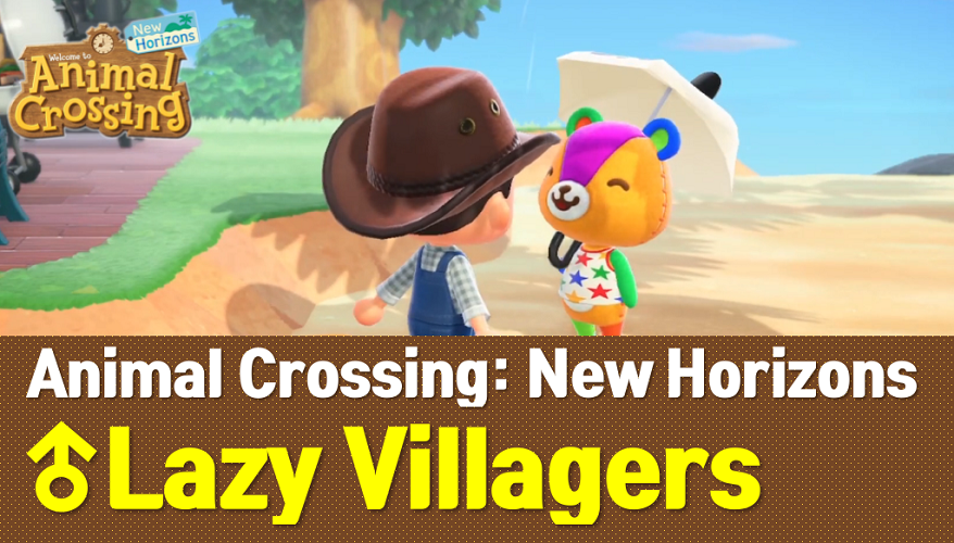 Animal Crossing New Horizons Lazy Villagers List (ACNH Wiki)