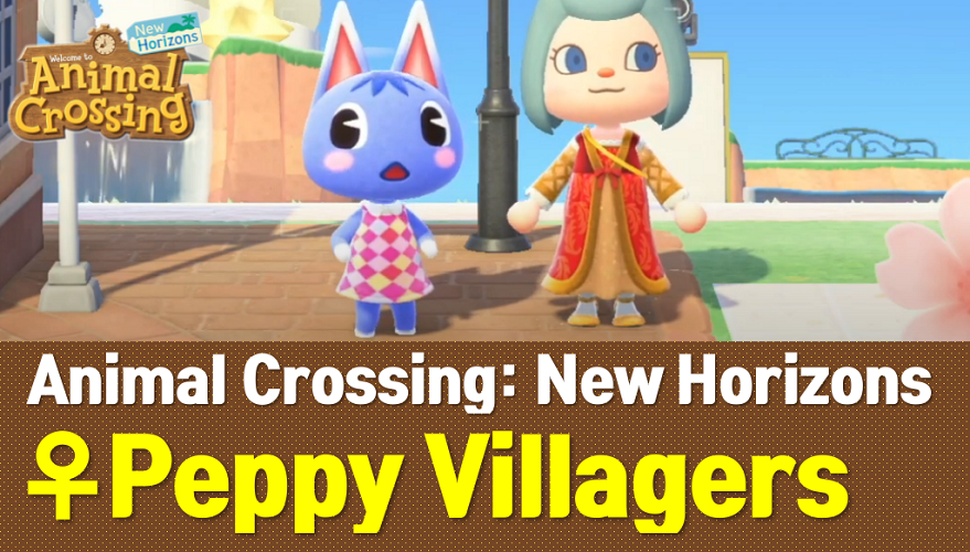 Animal Crossing New Horizons Peppy Villagers List and Guide (ACNH Wiki)