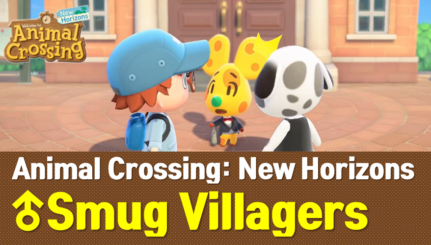 Animal Crossing New Horizons Smug Villagers List and Guide (ACNH Wiki)