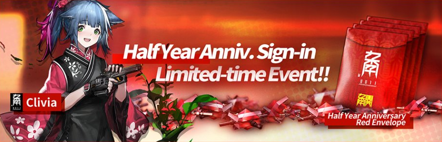 Arknights Half Year Anniversary Sign in Event (Ancient Forge)