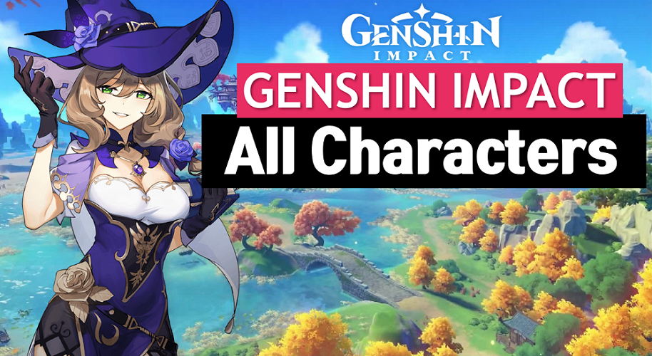 Genshin Impact Characters List and Wiki