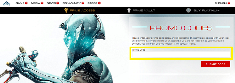 Warframe Promo Code List (October 2020) - OwwYa