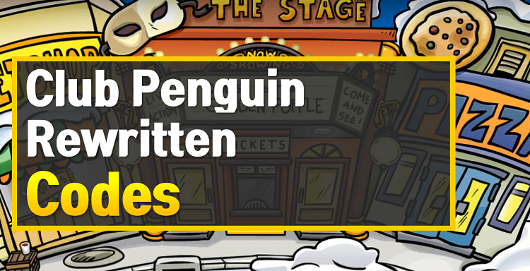 Club Penguin Rewritten Codes