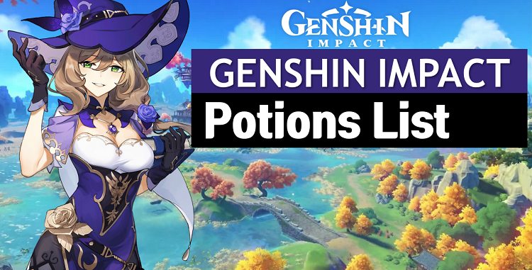 Genshin Impact Potion List and Wiki