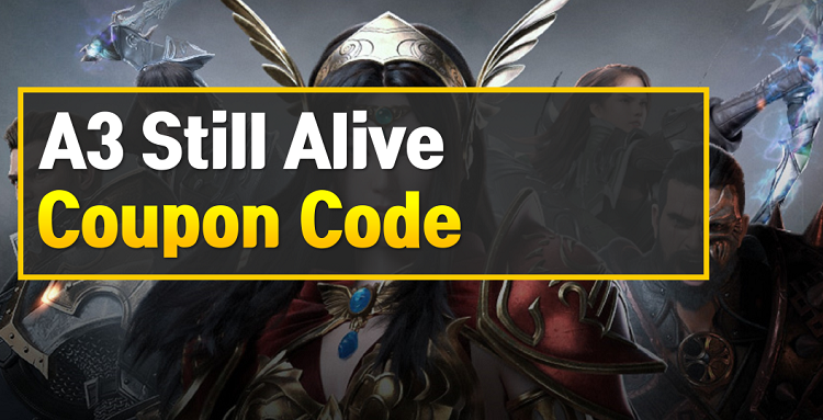 A3 Still Alive Coupon Code