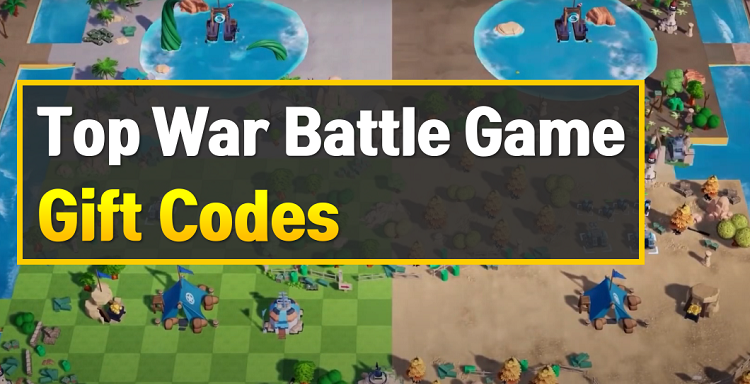 Top War Battle Game Gift Codes