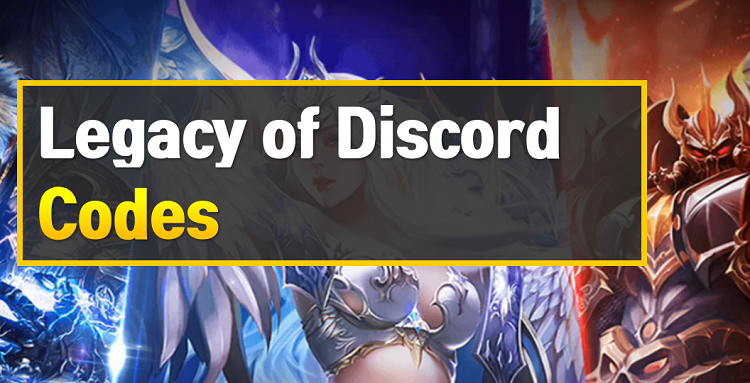 Legacy of Discord Codes