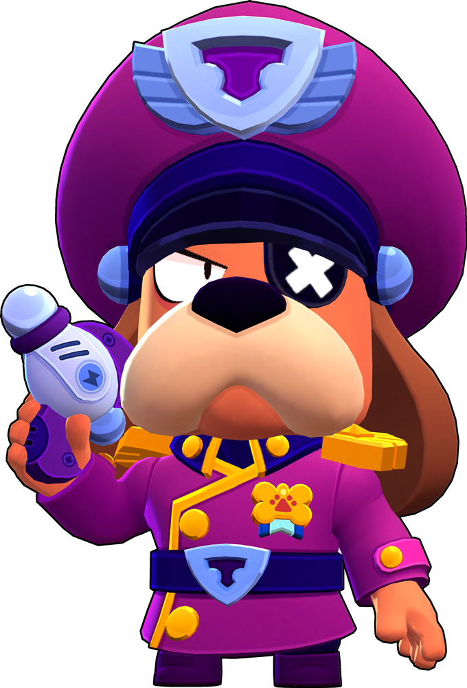 Brawl Stars Colonel Ruffs