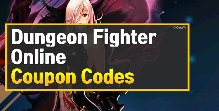 Dungeon Fighter Online Coupon Codes