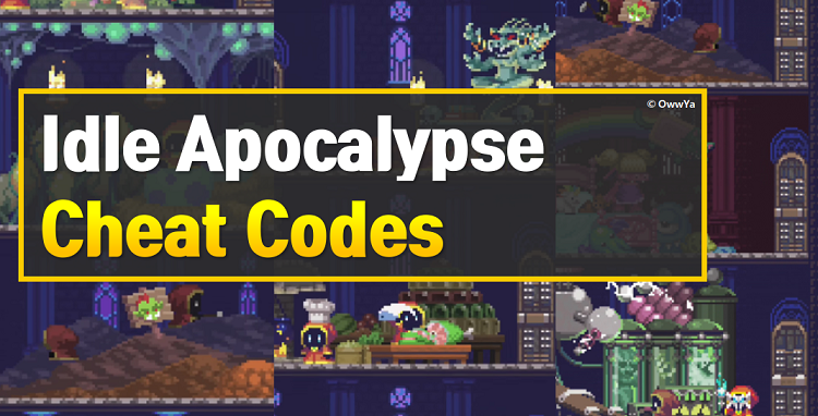 Idle Apocalypse Cheat Codes