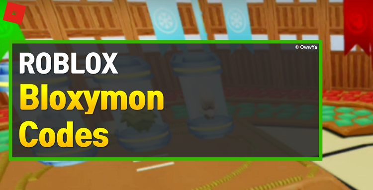 Roblox Bloxymon Codes