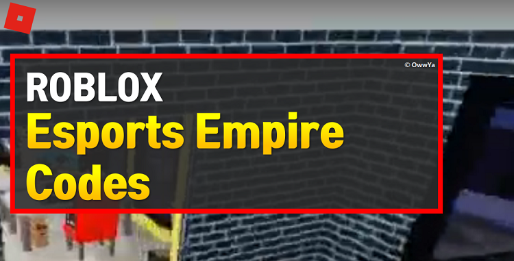 Roblox Esports Empire Codes
