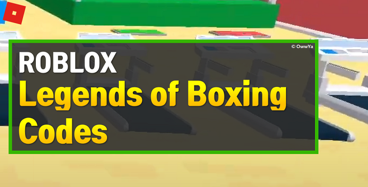 Roblox Legends of Boxing Codes