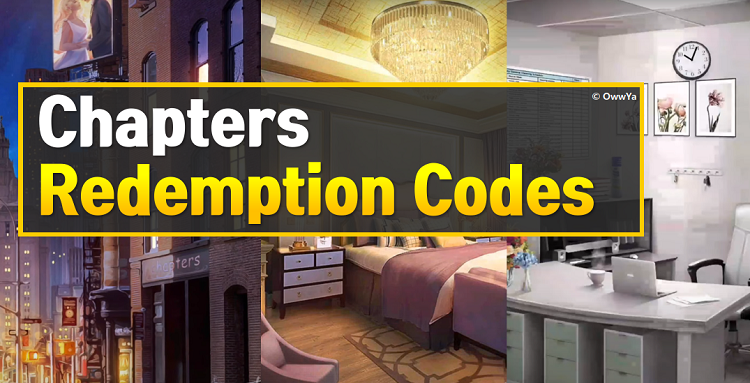 Chapters Redemption Codes