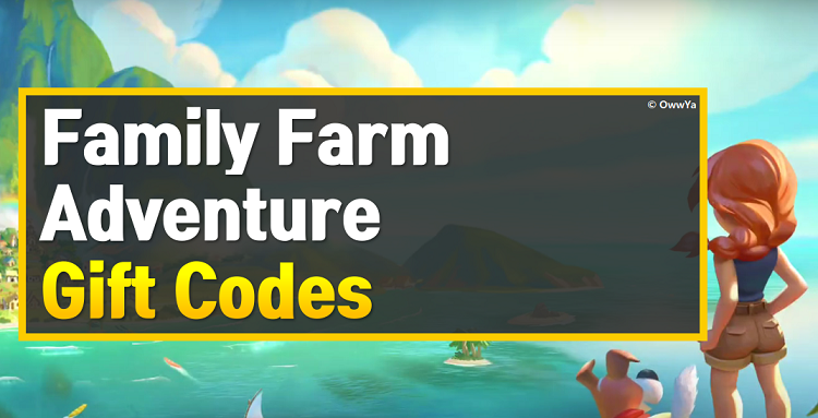 Family Farm Adventure Gift Codes