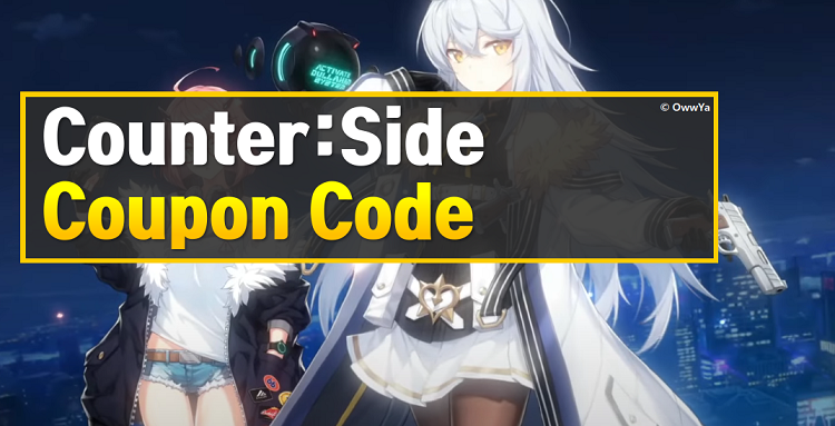 Counter Side Coupon Code