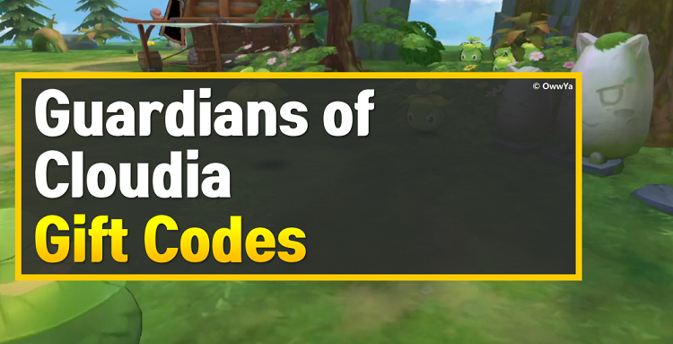 Guardians of Cloudia Gift Codes